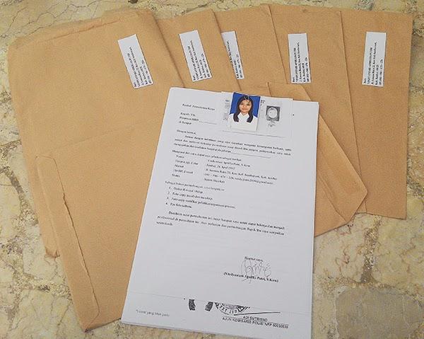 Membuat Surat Lamaran Pekerjaan