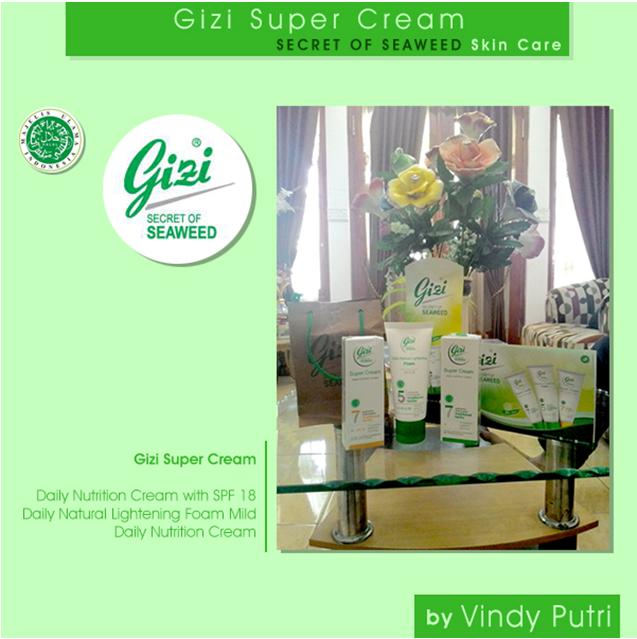 Gizi Super Cream SECRET OF SEAWEED Skin Care