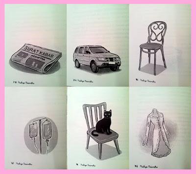 Ilustrasi per BAB pada novel Picture Perfect by Pradnya Paramitha.