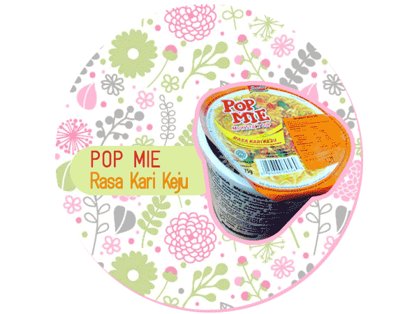 Pop Mie Rasa Kari Keju Baru.