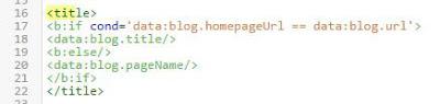 Ubah title tag dan tambahkan menjadi seperti gambar.