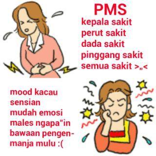 Cewek yang lagi PMS