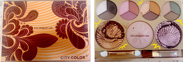 City Color Timeless Beauty Pallete