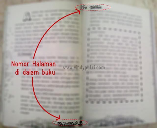 Halaman yang ada di dalam halaman buku.