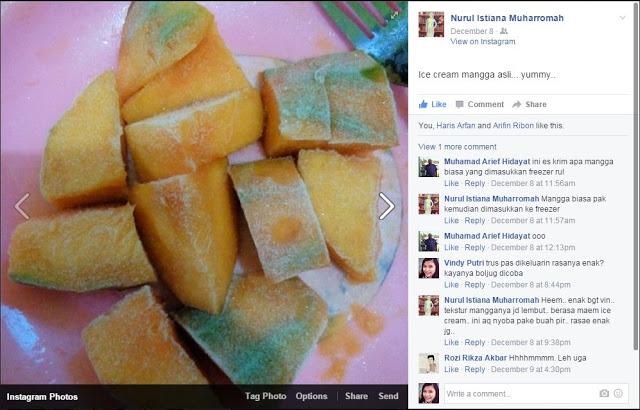 Freengo - Freeze Mango ala Nurul Istiana