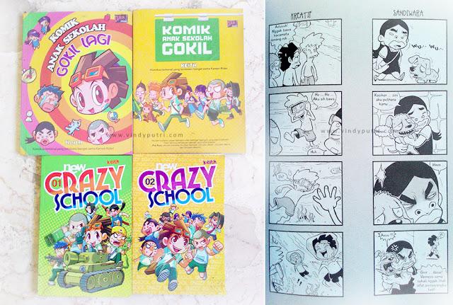 Komik Anak Sekolah Gokil & New Crazy School