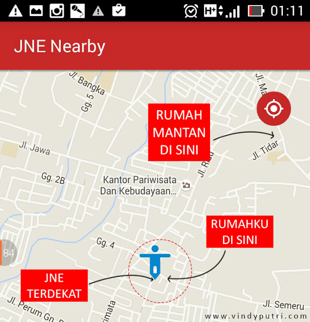 JNE Nearby