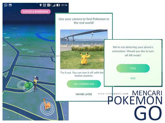 Mencari Pokemon Go