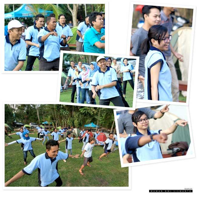Olahraga Pagi di Taman Botani Sukorambi Jember