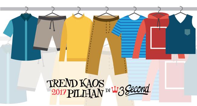 Trend Kaos 2017 Pilihan di 3 Second