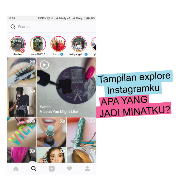 Instagram Explore