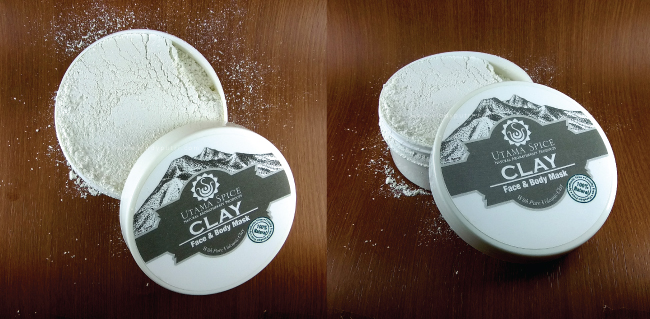 Clay Face & Body Mask Utama Spice