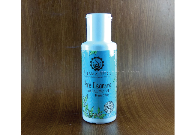 Pore Cleansing Facial Wash Utama Spice