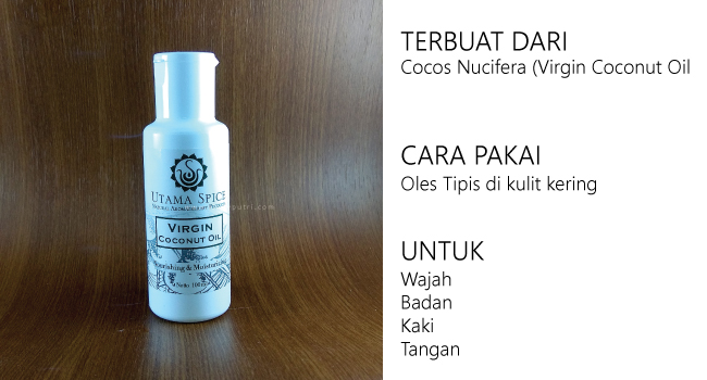 Virgin Coconut Oil Utama Spice