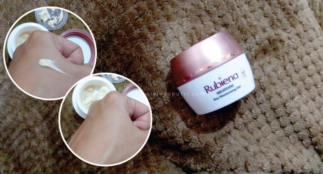 Rubiena Brightening Day Moisturizing Gel