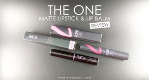 THE-ONE-MCOLOR-UNLIMITED-MATTE-LIPSTICK-26-ADAPT-LIP-BALM-REVIEW