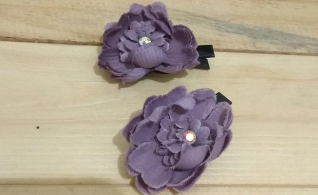 Jepit bunga kain