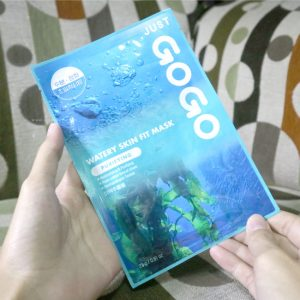 review-just-gogo-sheet-mask-watery-skin-fit-mask-purifying