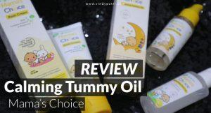 review mamaschoice calmingtummy oil