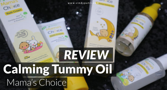 review mamaschoice calmingtummy oil